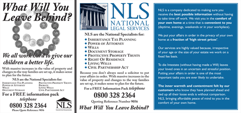 Case Study 3 - National Legal Services