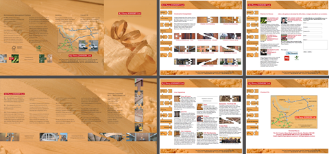 R J Parry Joinery Brochure and Web Site
